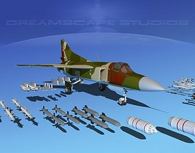 3D Mig-23 Fighter V15 Poland