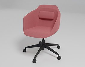 3D ULTRA - Chair with 5-spoke base with armrests with 1