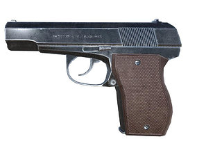 3D model Pistol PBR