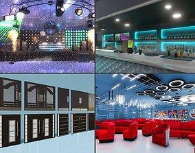 3D model Night Club props - Unity
