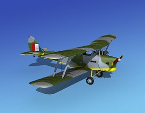 Dehavilland DH82 Tiger Moth V03 3D