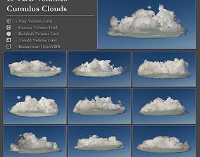Clouds - Volumetric OpenVDB Cumulus Clouds 3D