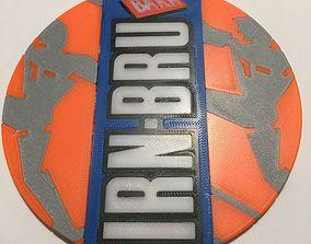 3D printable model Irn Bru Coaster