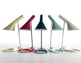 table AJ Table Lamp 3D