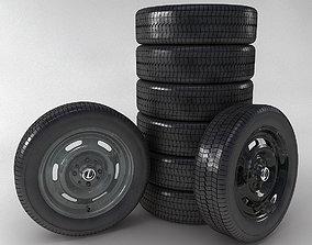 3D model Wheel Lada