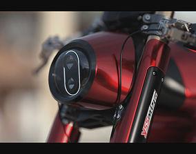 Koenigsegg motorcycle 3D model