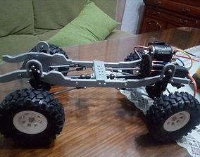 Transfer case RC car 3D print model