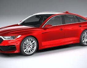 Generic Sedan 2020 v2 3D model
