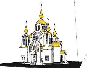Architecture-Religion-God-Culture-Temple-0103 3D model