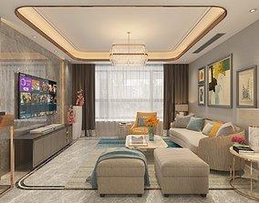 lamp living room 01 3D