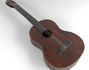 3D model Guitar music