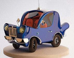Car Cartoon 3D asset