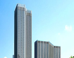 3d building 827