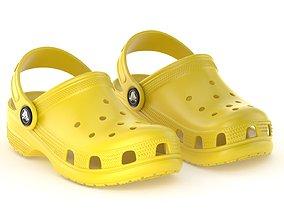 Crocs Classic Clog Lemon 3D model