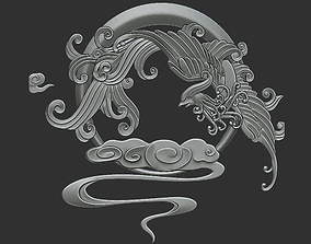 ornament 3D print model Phoenix