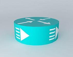 3D Cisco Edge and Broadband Router Icon