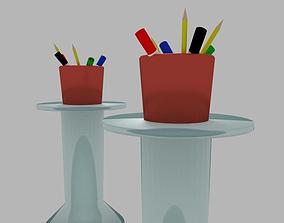 3D model Markers pens and pencils