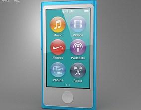 Apple iPod nano 5th generation 2012 3D model