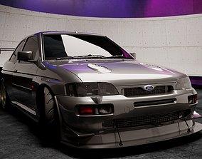 3D model Ford Escort RS Cosworth 92