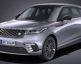 LowPoly Range Rover Velar 2018 3D asset