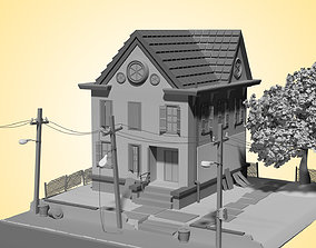 3D model Doherty House