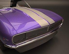 Camaro RS Z28 1968-69 3D model