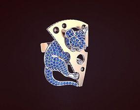 mouse Cufflinks 3D printable model