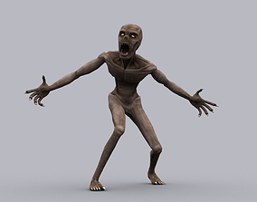 animated GHOUL GAME READY ANIMATED MODEL