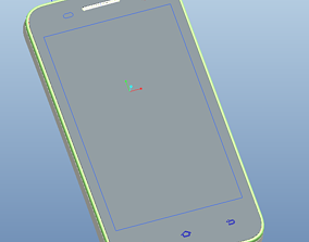 Xiaomi S5 mobile phone structure drawing 3D model