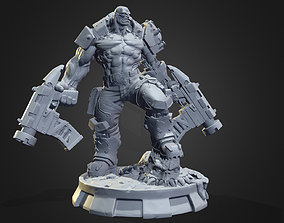 Orc Cyborg printable heavy