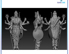 Mataji Idol 3D Printable model krishna
