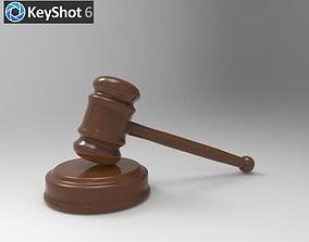 The Court Hammer 3D model