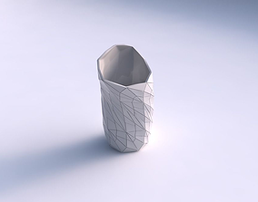 3D print model Vase vortex with mosaic plates