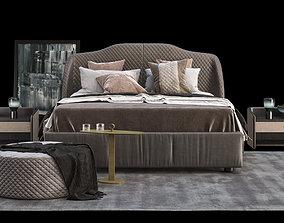3D model Bedroom furnishing set
