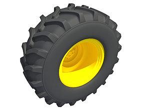 3D Tractor Tyre