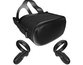 3D model Oculus Quest with Controllers