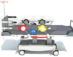3D model Stretcher Trolley for Children