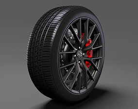 3D Mazda Roadster RS wheel 2017