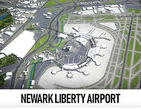 Newark Liberty International Airport - 3D model