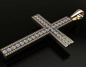Large Diamond Cross 3D print model