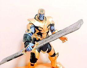 Thanos Sword EndGame Cosplay prop 3D model