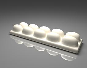 3D White Chocolate Bar 5