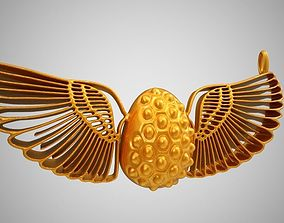 3D print model Wing Egg Necklace