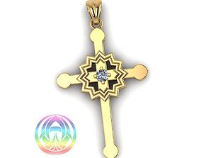 jewelry cad print religious cross jesus earing