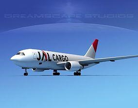3D Boeing 767-200ER JAL CARGO