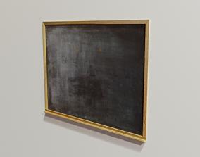 3D asset Chalkboard interior