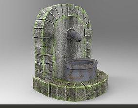 3D model Ancient Roman Water Fountain