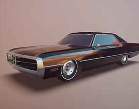 Gangster car 3D asset