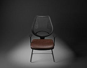 3D asset Office Chair modern small