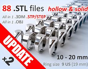3D printable model Signet ring Pack